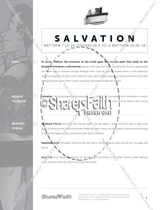 Plan Of Salvation Curriculum