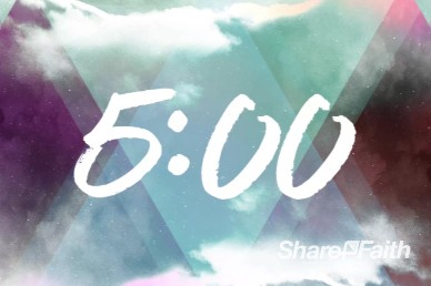 Worship Encounter 5 Minute Church Countdown Timer