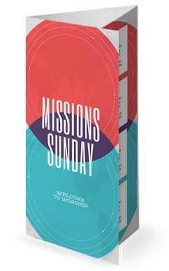 Finding Your Calling Church Trifold Bulletin