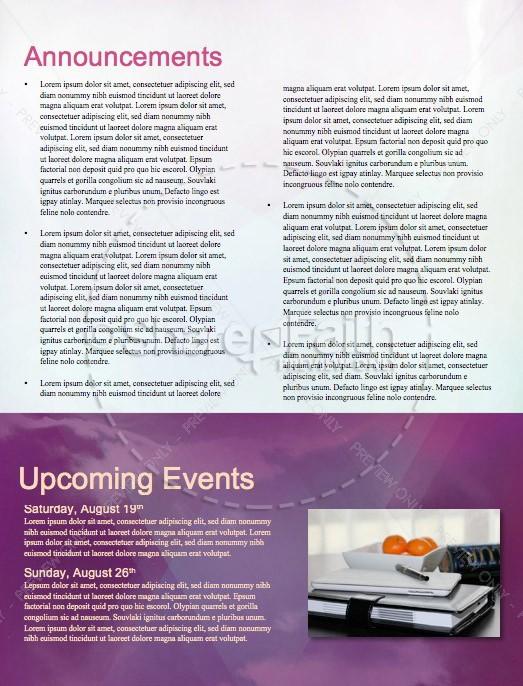 Worship Encounter Church Newsletter