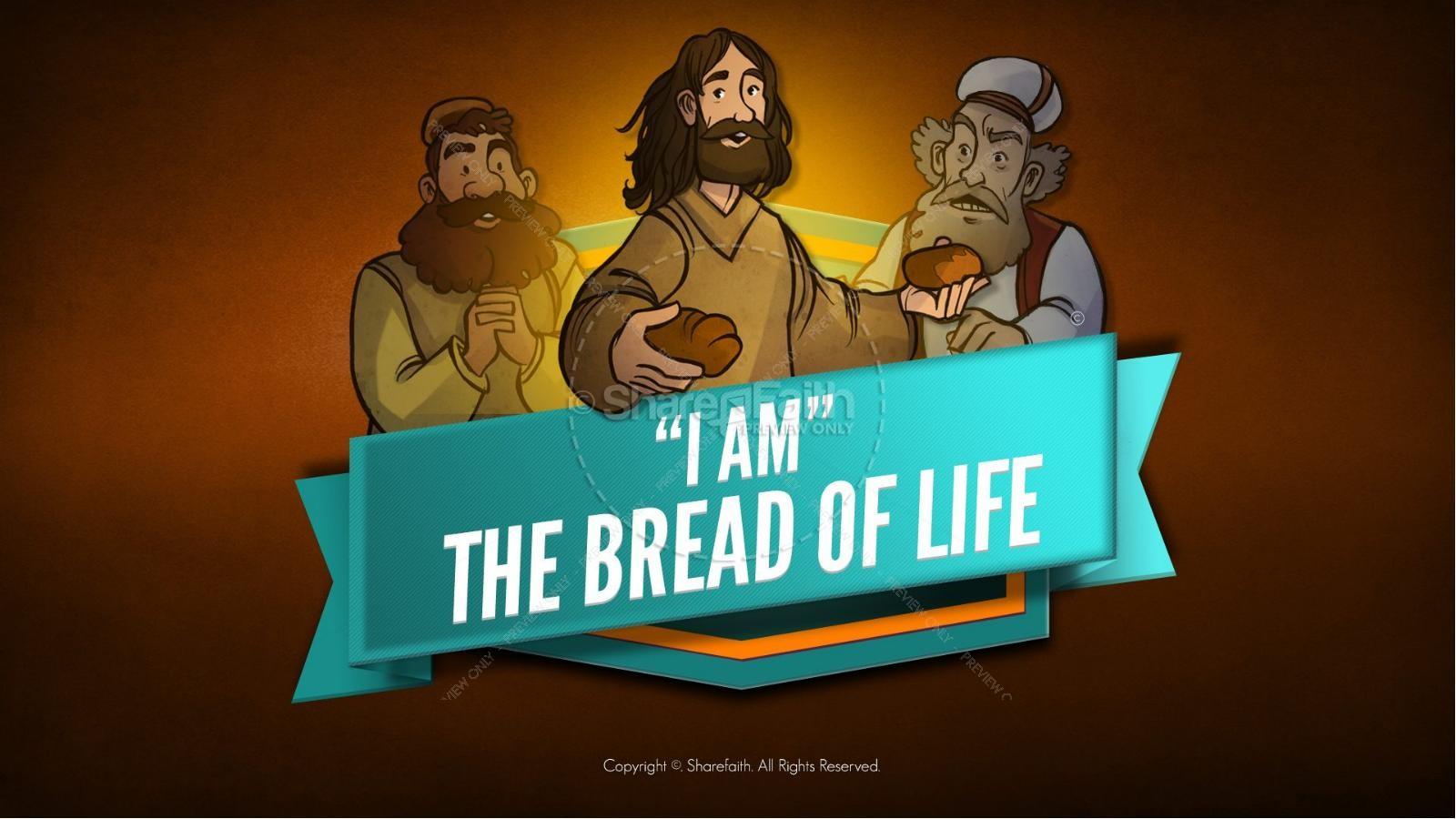 John 6 Bread of Life Kids Bible Stories | slide 1
