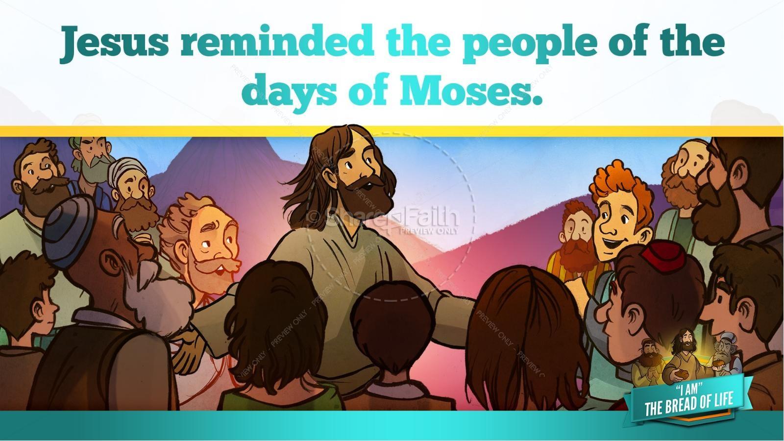 John 6 Bread of Life Kids Bible Stories | slide 16