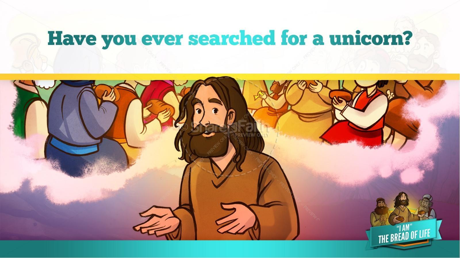 John 6 Bread of Life Kids Bible Stories | slide 21