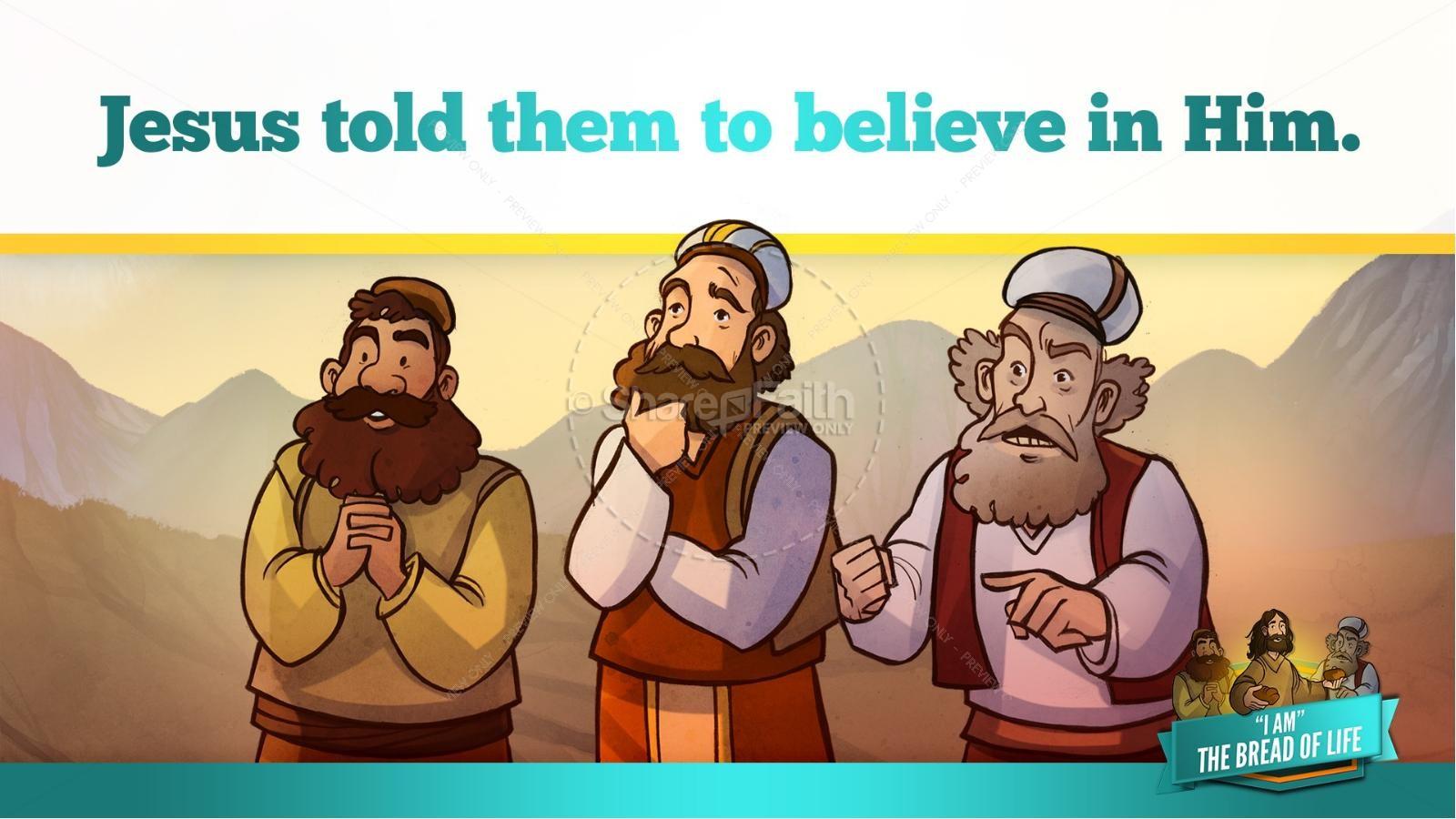 John 6 Bread of Life Kids Bible Stories | slide 24