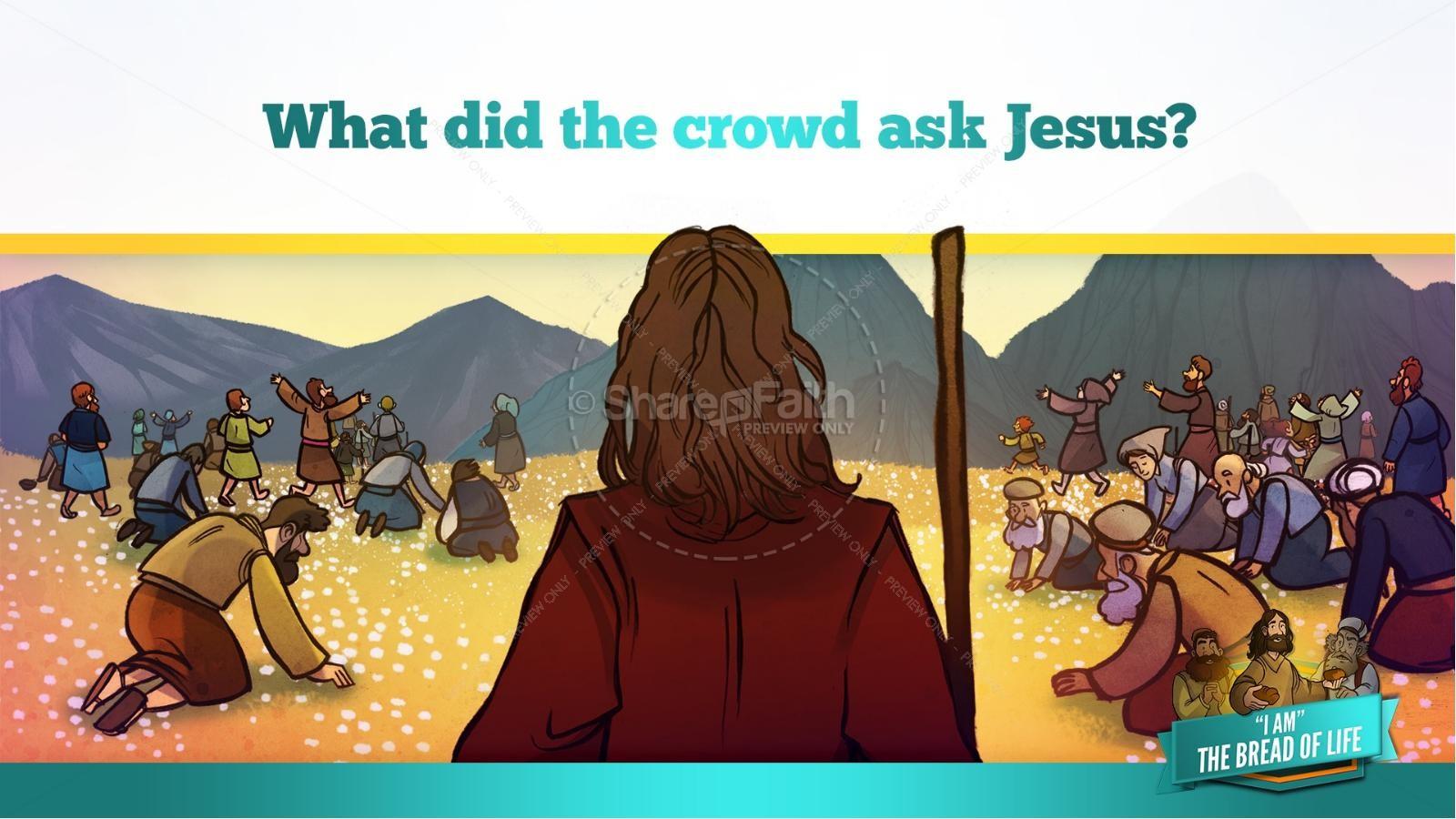John 6 Bread of Life Kids Bible Stories   slide 27