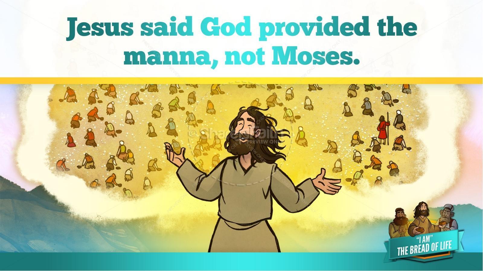 John 6 Bread of Life Kids Bible Stories | slide 32
