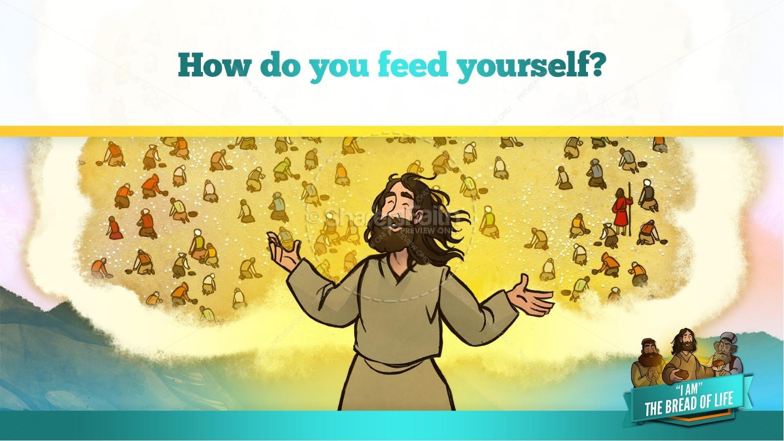 John 6 Bread of Life Kids Bible Stories | slide 33
