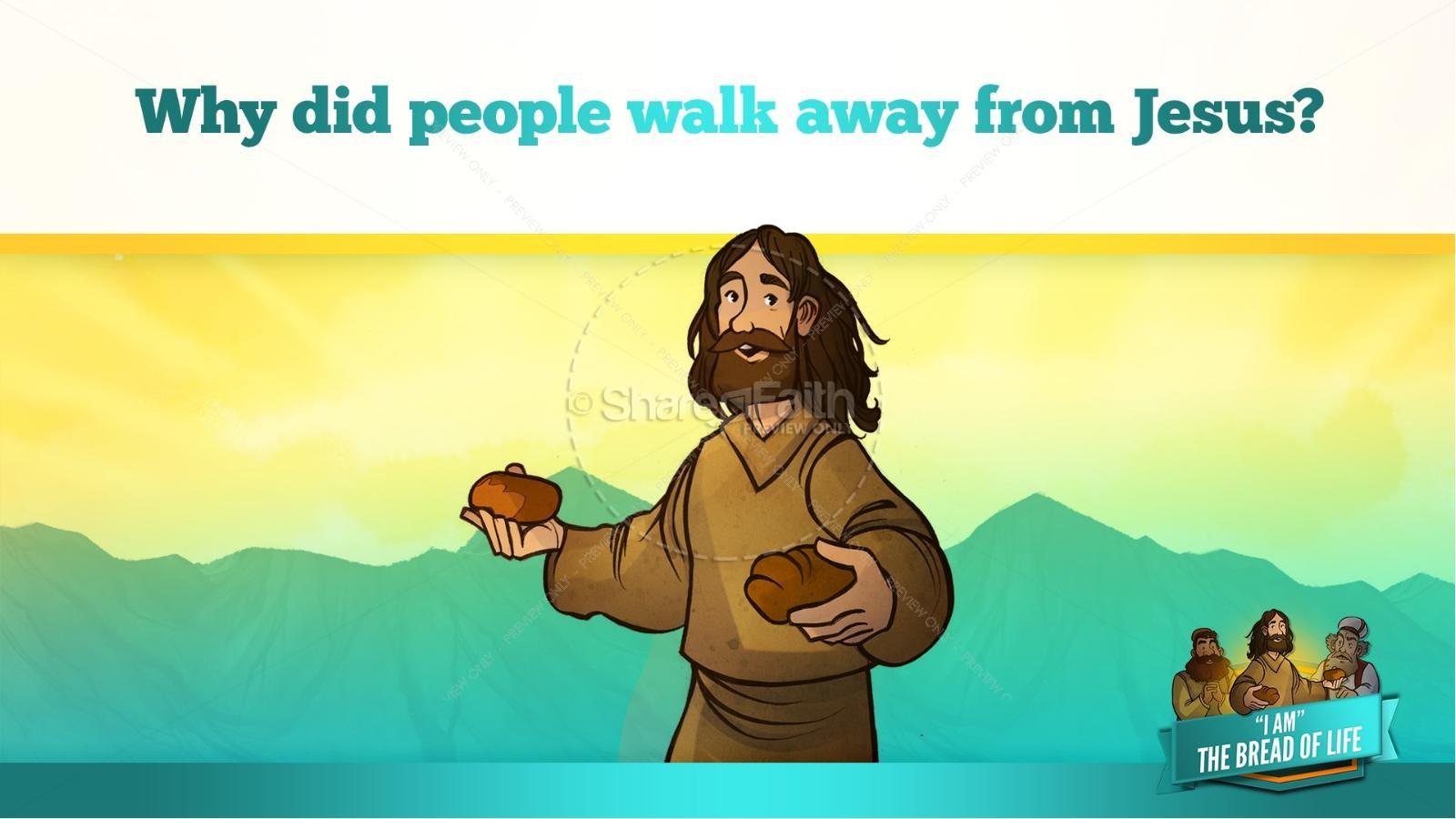 John 6 Bread of Life Kids Bible Stories   slide 35