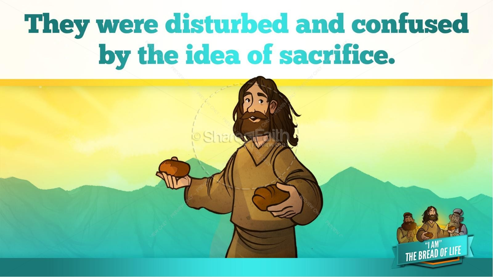 John 6 Bread of Life Kids Bible Stories | slide 36