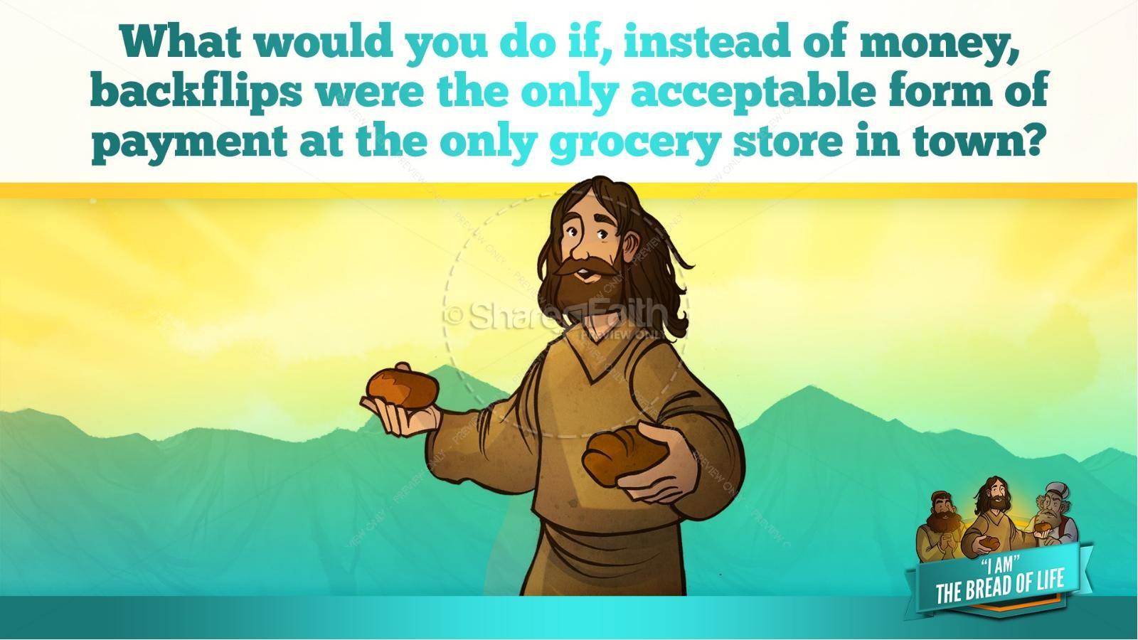 John 6 Bread of Life Kids Bible Stories | slide 37