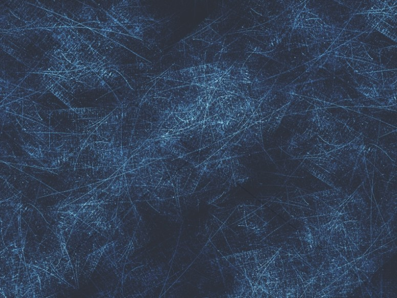 Blue Scratches Grunge Background