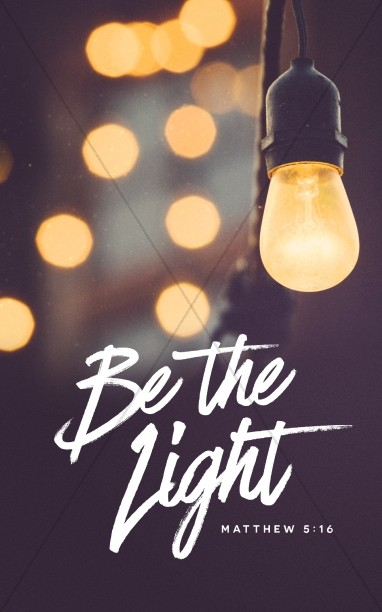 Be The Light Christian Church Bulletin