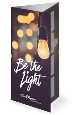 Be The Light Church Trifold Bulletin