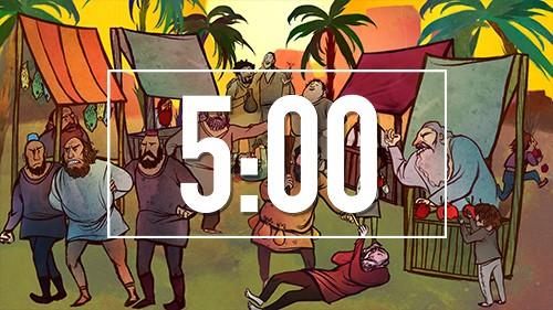 Noahs Ark Bible Countdown Timer for Sunday School