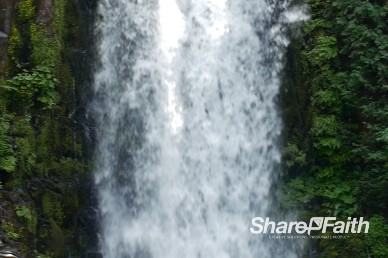 Cascading Waterfall Video Background