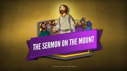 Sermon On the Mount (Beatitudes) Kids Bible Video for Kids