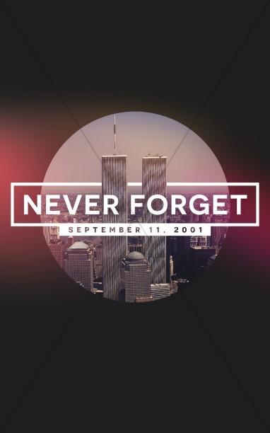 September 11 World Trade Center Memorial Bulletin
