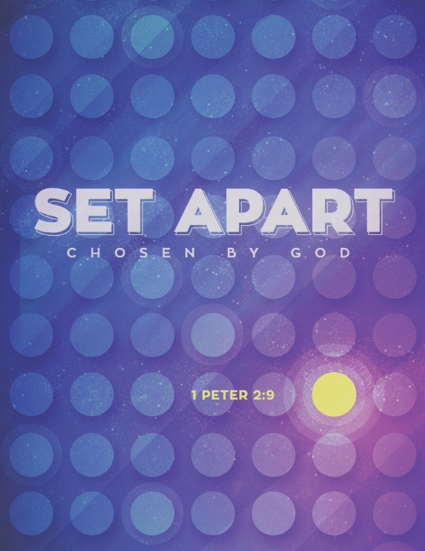 Set Apart For God Church Flyer Template