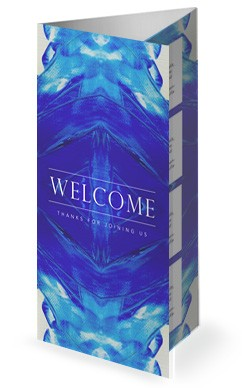 In Christ Alone Hope Church Trifold Bulletin Cover
