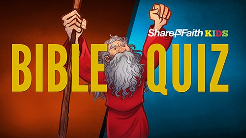 Bible Trivia Quiz for Kids from the Old and New Testament