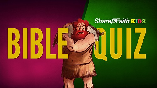Bible Trivia Quiz for Kids from Joshua to 1 Samuel