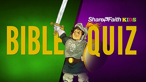 Bible Trivia Quiz for Kids from Nehemiah to Jonah