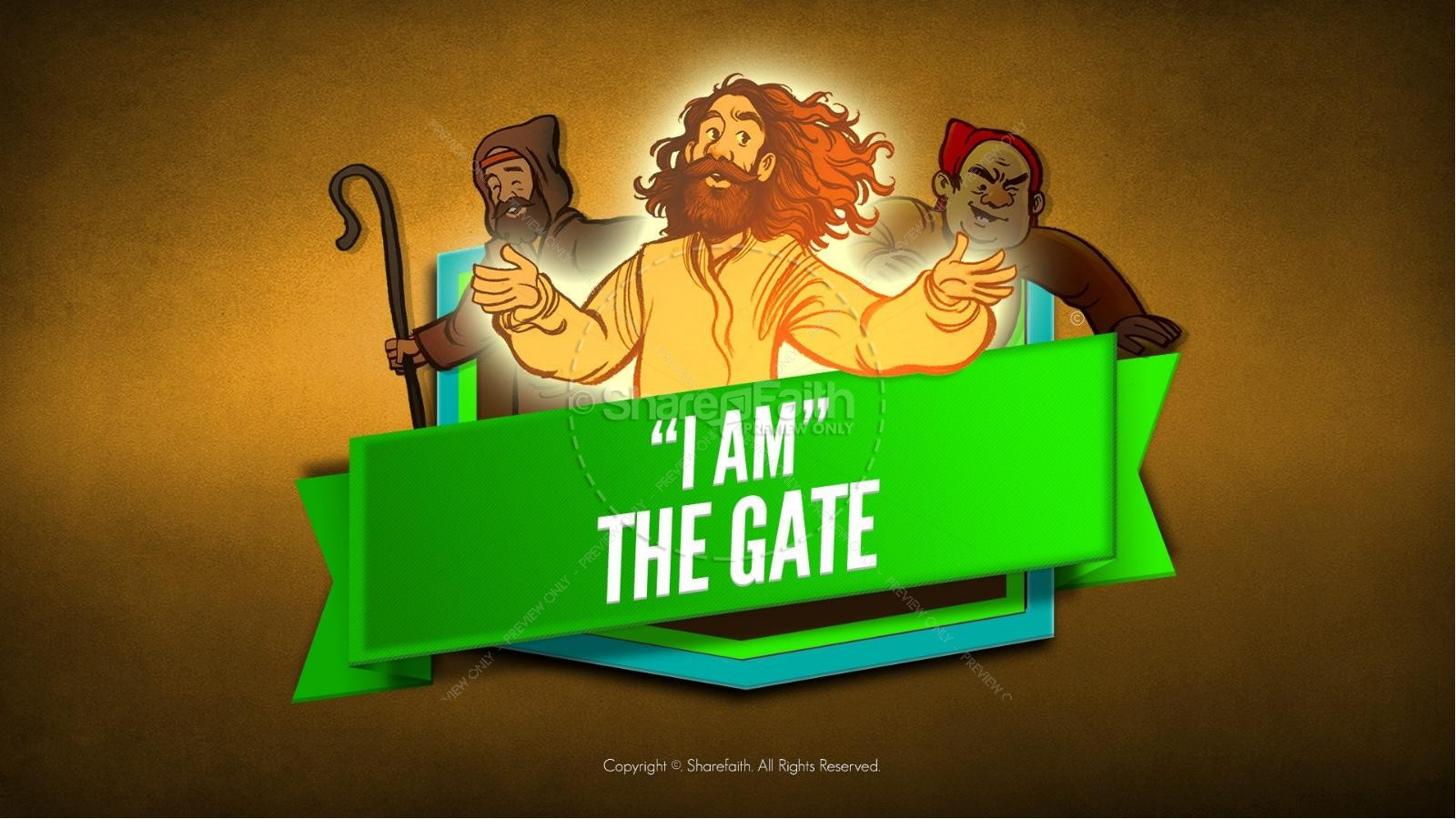 John 10 I am the Door Kids Bible Story | Kids Bible Stories