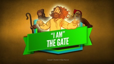 John 10 I Am The Door Bible Video For Kids
