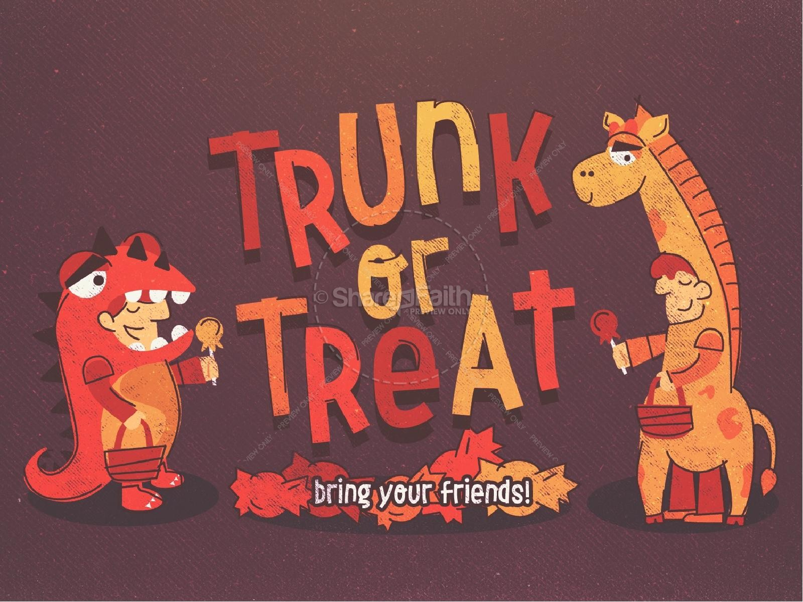 Trunk or Treat Harvest Festival PowerPoint