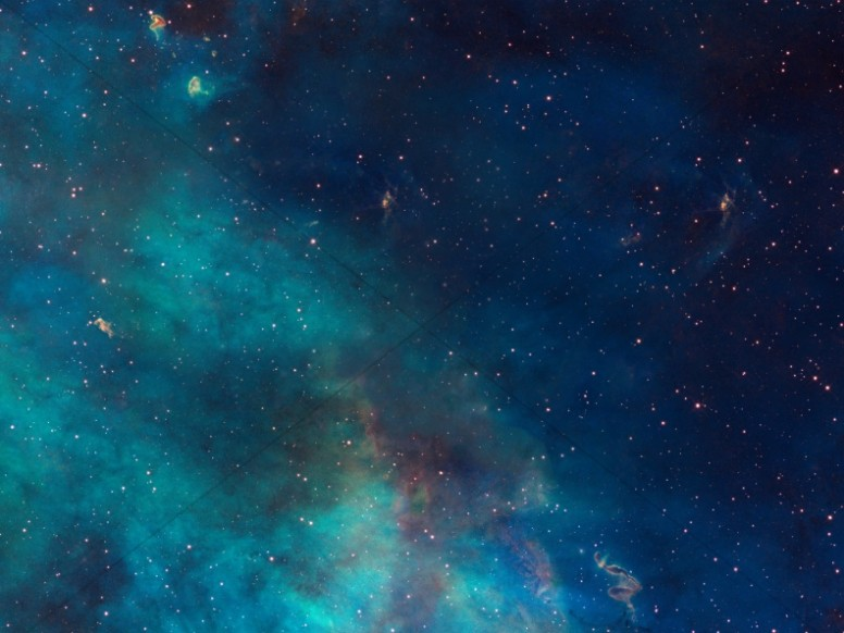 Stars in Space Church Worship Background