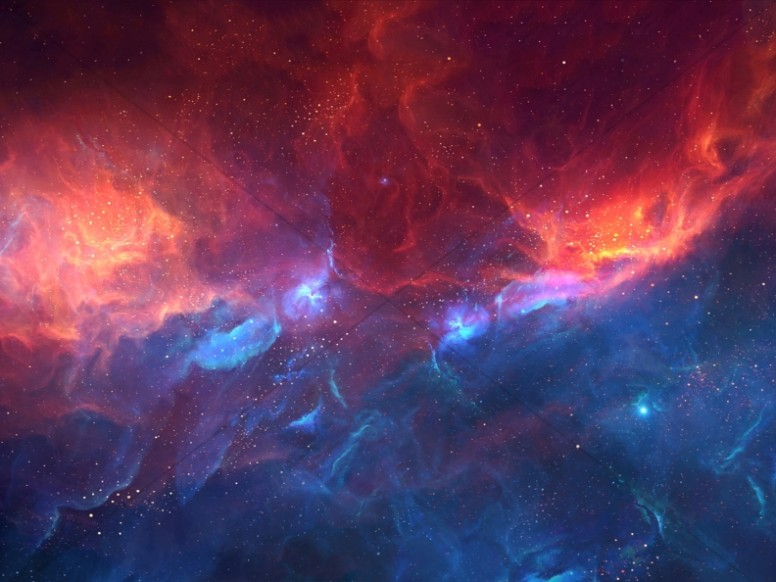 Nebula Cloud Church Worship Background
