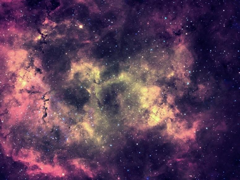 Galaxy Nebula Church Worship Background