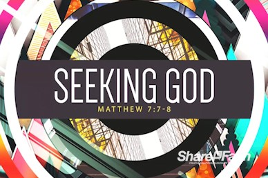 Seeking God Sermon Intro Motion Loop