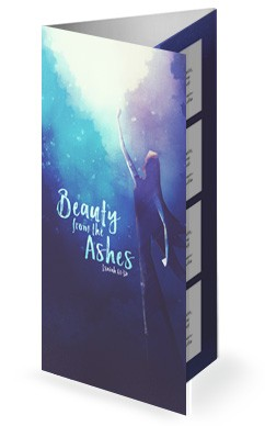 Beauty From The Ashes Sermon Trifold Bulletin
