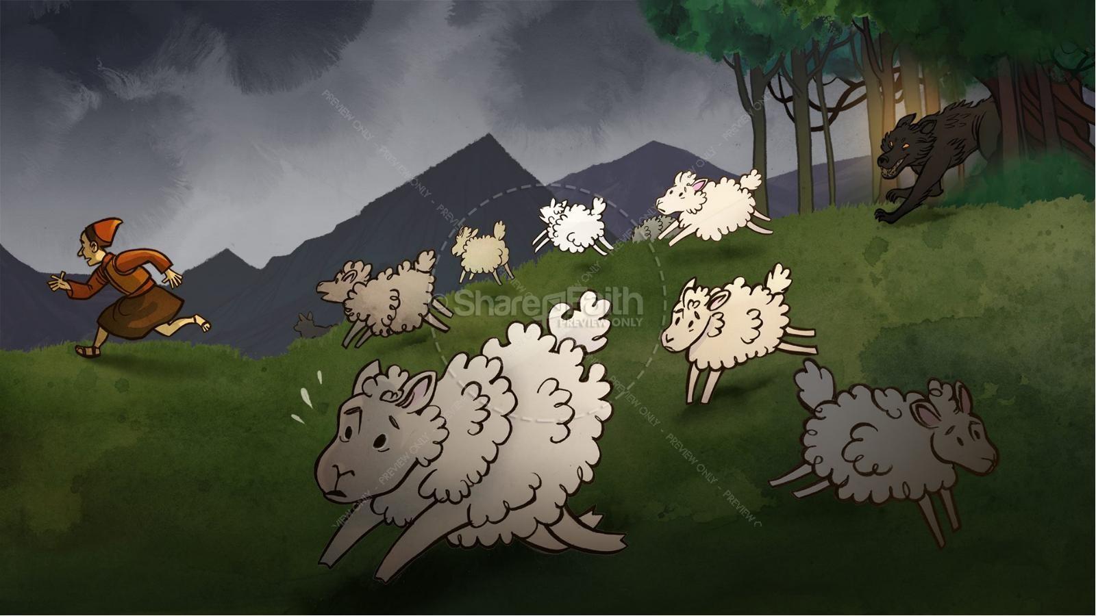 John 10 The Good Shepherd Kids Bible Stories | slide 3