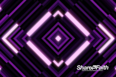 Purple Diamond Abstract Worship Motion Graphic
