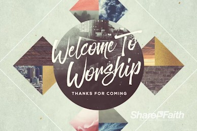 Spiritual Habits Welcome Church Motion Graphic