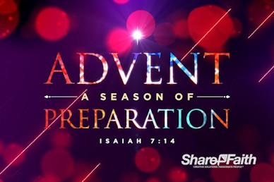 Advent A Season of Preparation Title Video Loop