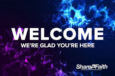 Digital Plexus Abstract Welcome Motion Graphic
