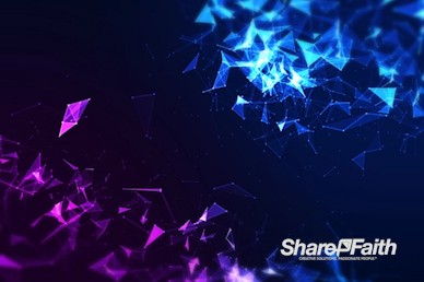 Digital Plexus Abstract Worship Motion Graphic