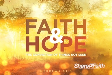 Faith and Hope Title Motion Loop