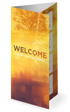 Faith and Hope Church Trifold Bulletin
