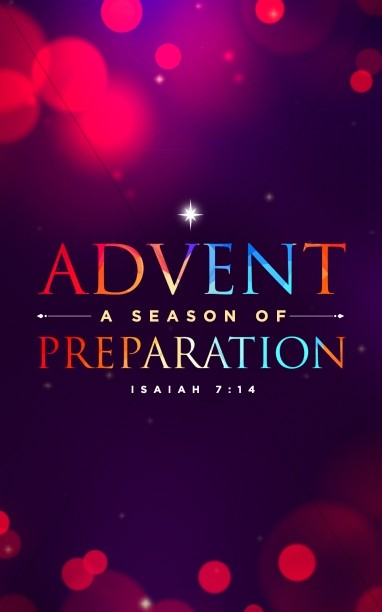 Advent A Season of Preparation Church Bulletin