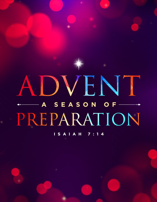 Advent A Season of Preparation Church Flyer