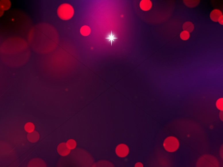 Advent Star Christmas Worship Background