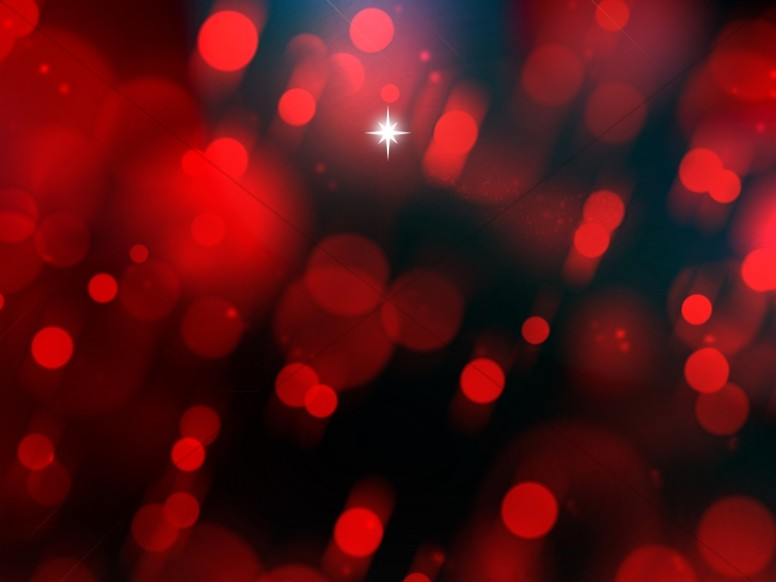 Advent Star Christmas Background Slide