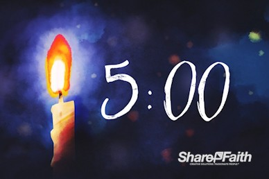 Christmas Eve Service Countdown Timer