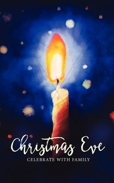 Christmas Eve Service Sermon Bulletin