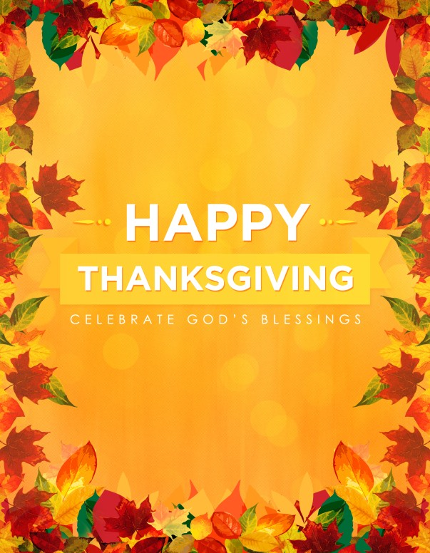 thanksgiving flyer template microsoft
