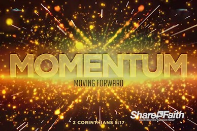 Momentum Title Church Motion Graphic